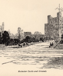 Rochester Castle and Ground
