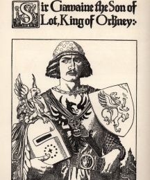 Sir Gawaine the Son of Lot, King of Orkney