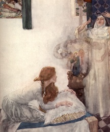 Morgan le Fay was put to school in a nunnery, and there she learned so much that she was a great clerk of necromancy