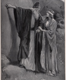 O, Merlin, tell me that spell! said the Lady Nimue