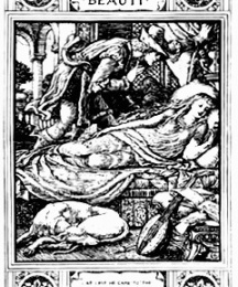 Frontispiece of The Sleeping Beauty.