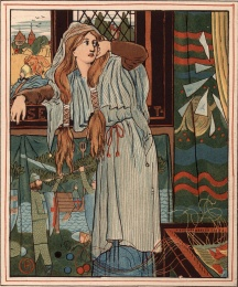 The Lady of Shalott - Mirror Breaking