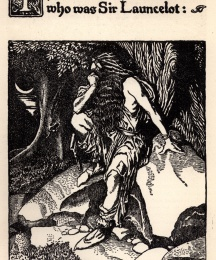 The Madman of the Forest who was Sir Launcelot
