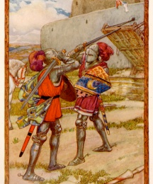 The Clash of Weapons Brought Isolde to the Walls