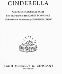 Title page of Cinderella.