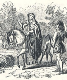The Knight's Wife Asks a Boon of Robin Hood