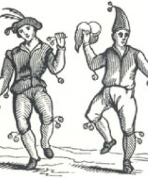 Morris Dancers from Holme's Academy of Armory, 1683