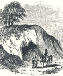 Robin Hood's Stable, A Cave Excavated in the Rock at Paplewick, in Nottinghamshire, Headpiece to Robin Hood's Chase