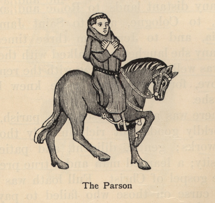 canterbury tales parson essays The parson's prologue and tale critical essays full glossary for the canterbury tales essay questions practice projects cite this literature note.