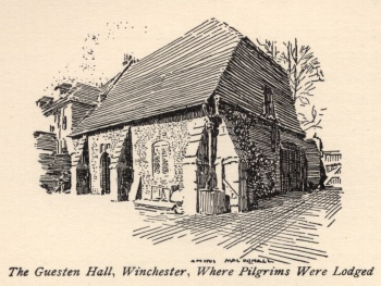 The Guestern Hall, Winchester, Where Pilgrims Were Lodged