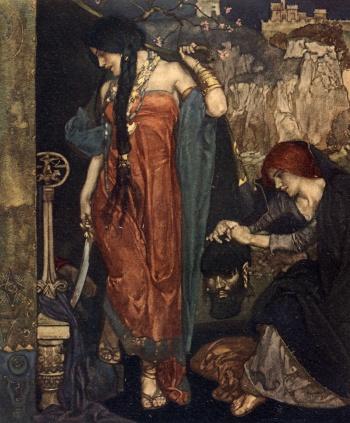 """Judith, by hir good conseil..."""