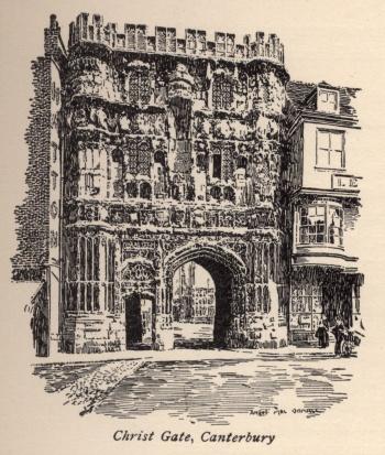 Christ Gate, Canterbury