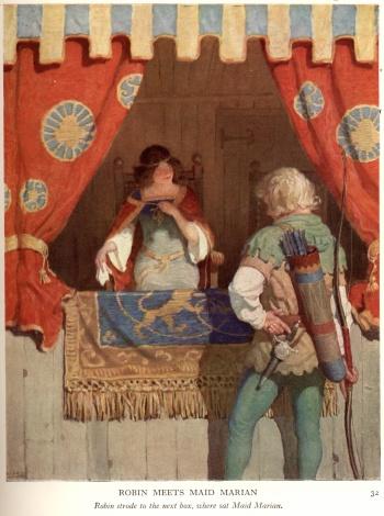 Robin Meets Maid Marian