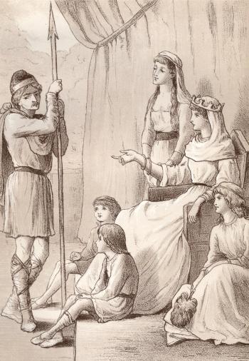 Arthur's Queen Propounds a Difficult Question
