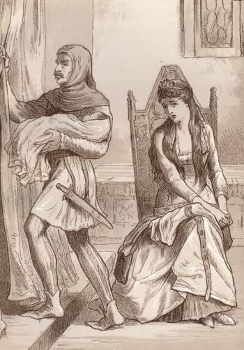 Griselda Bereft of her First-born