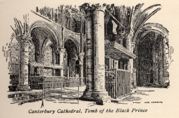 Canterbury Cathedral, Tomb of the Black Prince