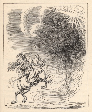 """Algarsif faced the Genie undaunted"""