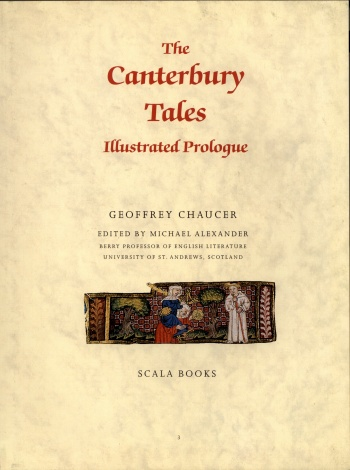 Canterbury Tales: The Illustrated Prologue