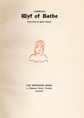 Chaucer's Wyf of Bathe