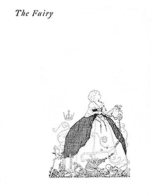 "Title Page of ""The Fairy"""