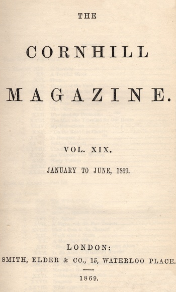 Cornhill Magazine
