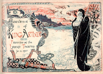 Souvenir of King Arthur, presented at the Lyceum Theatre