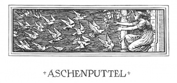 """The headpiece of Aschenputtel."""