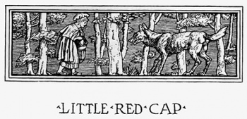 """Headpiece of Little Red Cap."""