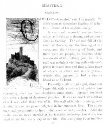 Initial Letter (Chapter I)