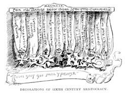 Decorations of Sixth Century Aristocracy