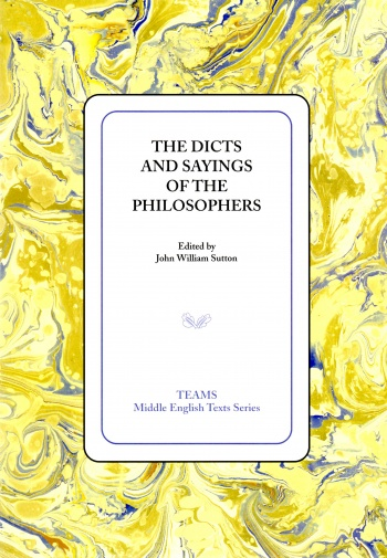 Dicts and Sayings of the Philosophers, The