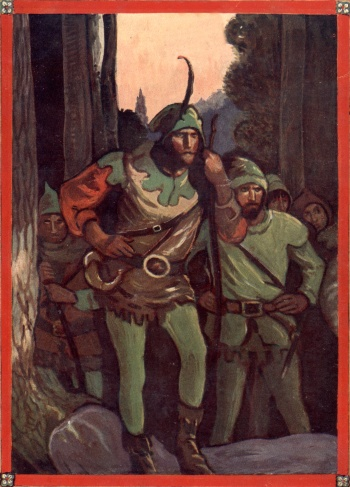 Robin Hood and His Merry Outlaws (Dust Cover Image)