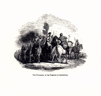 The Procession of the Pilgrims to Canterbury