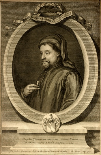 Frontispiece - Portrait of Chaucer