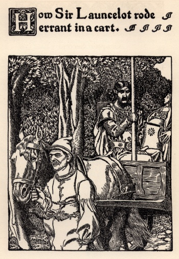 How Sir Launcelot Rode Errant in a Cart