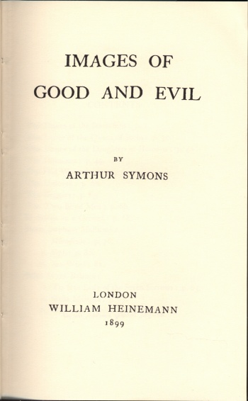Images of Good and Evil