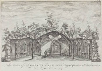 The Section of Merlin's Cave in the Royal Gardens at Richmond