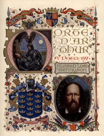 Morte D'Arthur: A Poem by Alfred Lord Tennyson