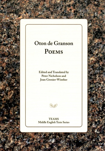 Oton de Granson: Poems
