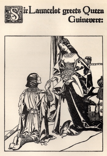 Sir Launcelot Greets Queen Guinevere