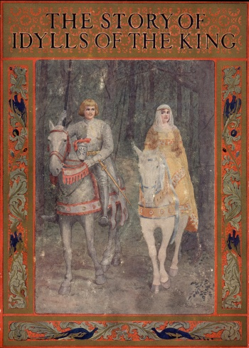 Story of Idylls of the King Adapted from Tennyson with the Original Poem, The