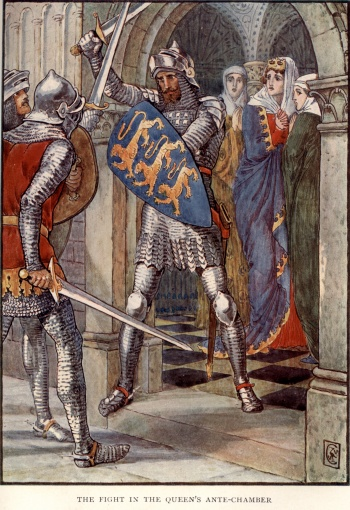 The Fight in the Queen's Ante-Chamber