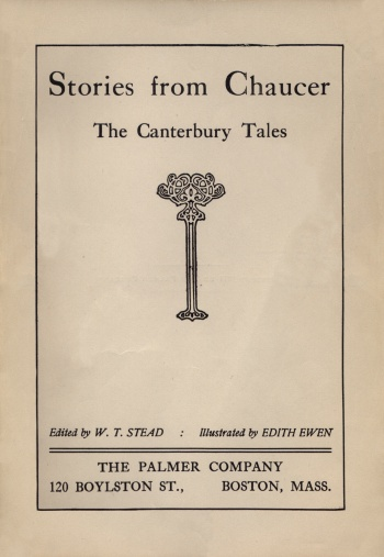 Stories from Chaucer: The Canterbury Tales