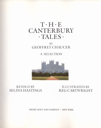 Canterbury Tales by Geoffrey Chaucer: A Selection, The