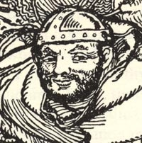 """""""Friar Tuck,"""" excerpt from Howard Pyle"""