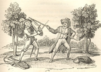Robin Hood and the Beggar I