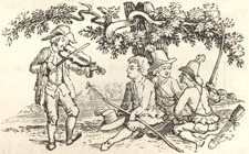 "Endpiece to ""Little John and the Four Beggars"""