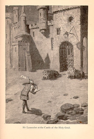 Sir Launcelot at the Castle of the Holy Grail