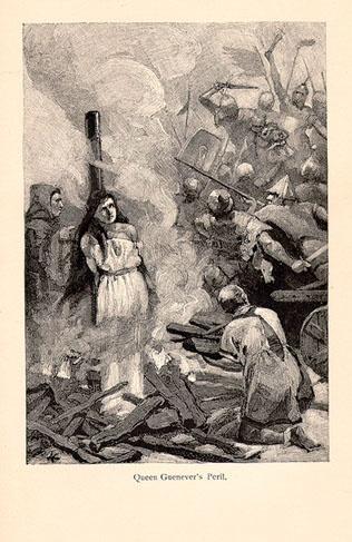 Queen Guenever's Peril