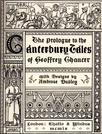 Prologue to the Canterbury Tales of Geoffrey Chaucer, The